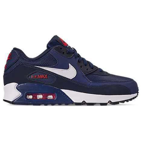 Nike Shoes MEN'S AIR MAX 90 ESSENTIAL CASUAL SHOES, BLUE