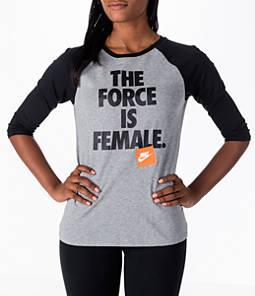 Women's Nike Sportswear Force Raglan T-Shirt