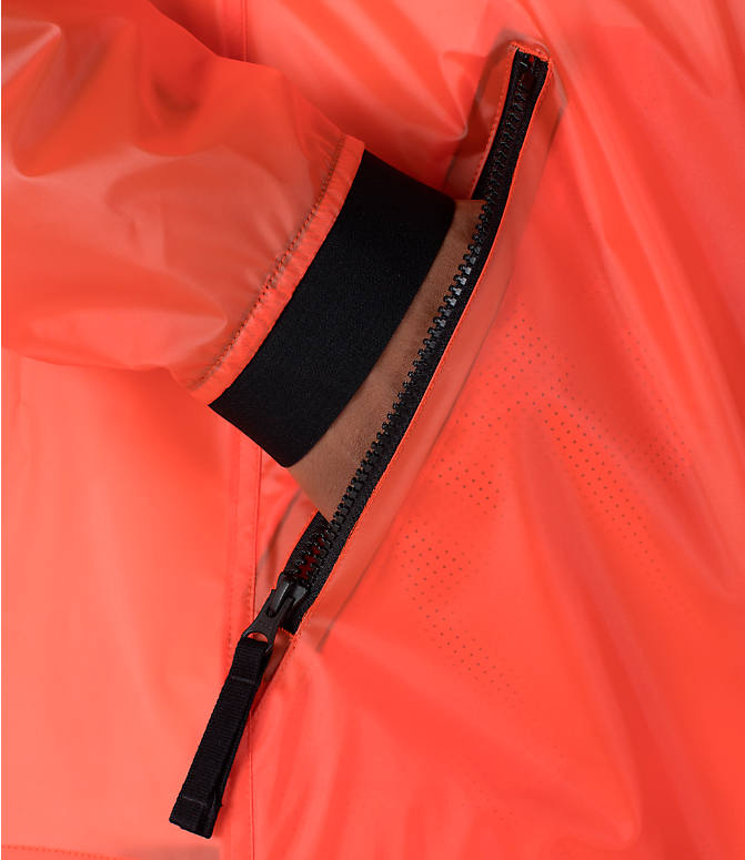 Detail 2 view of Men's Nike Sportswear HD QS Windrunner Jacket in Team Orange