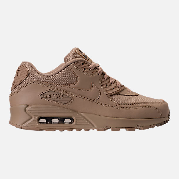 Right view of Men's Nike Air Max 90 Ballistic Running Shoes in Mushroom/Mushroom/Khaki