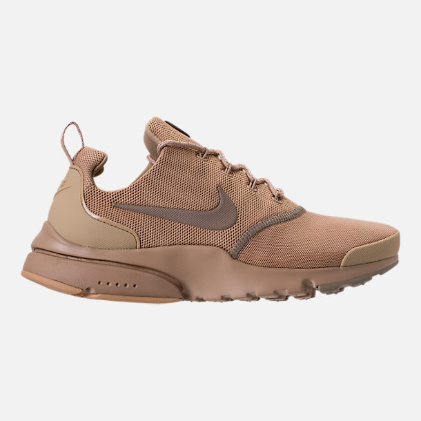 Right view of Men's Nike Presto Fly Ballistic Casual Shoes in Mushroom/Khaki/Baroque Brown