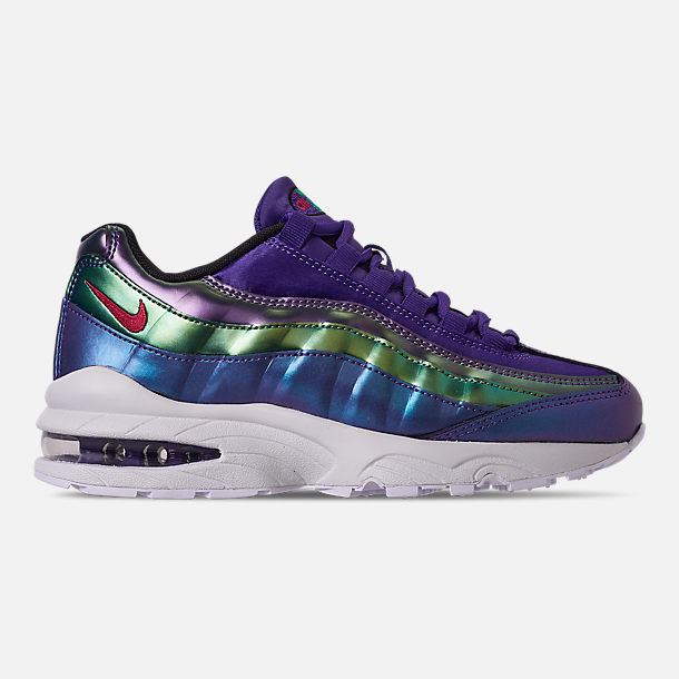 Right view of Girls' Big Kids' Nike Air Max 95 SE Casual Shoes