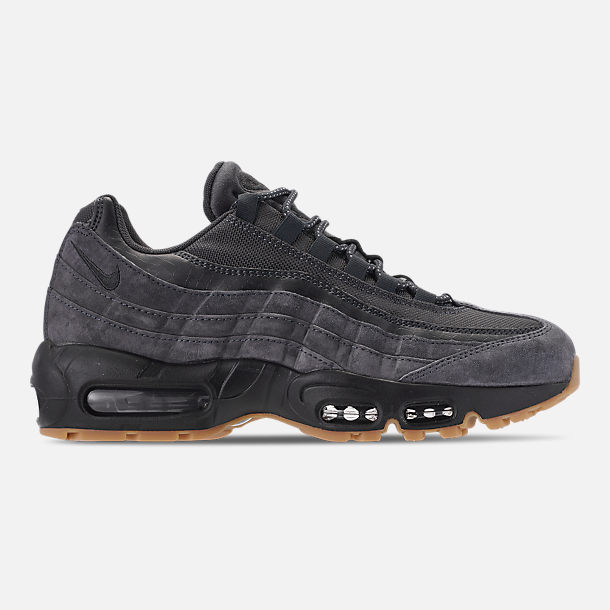 Right view of Men's Nike Air Max 95 SE Casual Shoes in Anthracite/Black