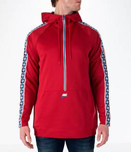 air max nike mens red zip up hoodie
