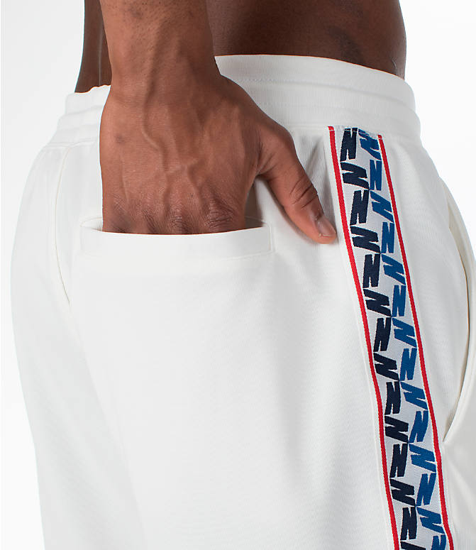 Detail 2 view of Men's Nike Sportswear AM Taped Track Pants in Sail