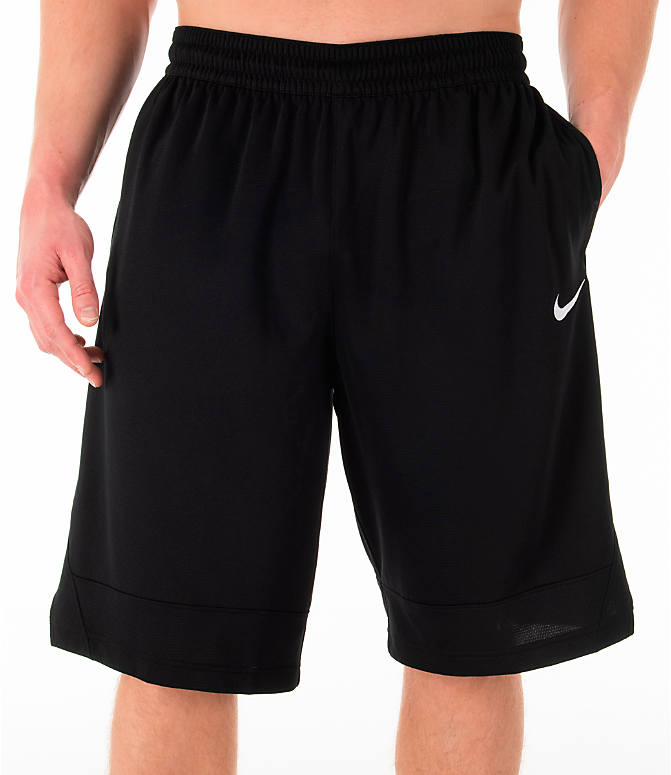 Detail 2 view of Men's Nike Dri-FIT Icon Basketball Shorts in Black