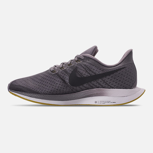 online store 0be6c 04886 Left view of Men s Nike Pegasus 35 Turbo Running Shoes in Gridiron Black  Atmosphere