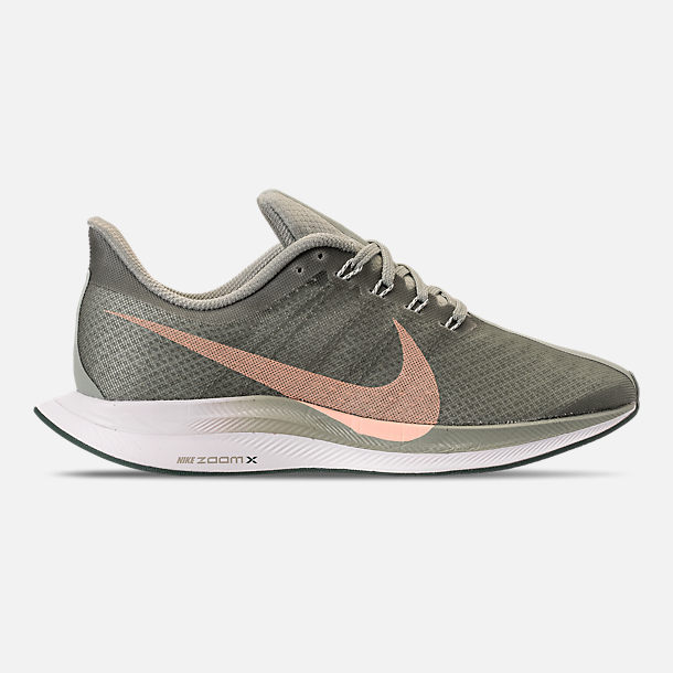 4a27016ca36 Right view of Women s Nike Zoom Pegasus 35 Turbo Running Shoes in Mica Green  Light