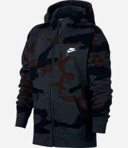 Boys' Nike Sportswear Allover Print Hoodie