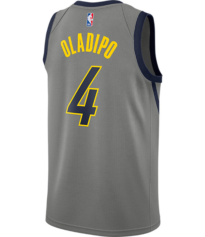 release date f06b8 31e7a Men's Nike Indiana Pacers NBA Victor Oladipo City Edition Connected Jersey