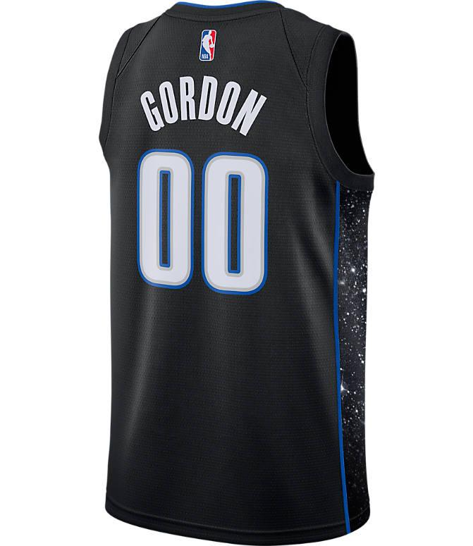 low priced eae5d 2aa3f Men's Nike Orlando Magic NBA Aaron Gordon City Edition Connected Jersey