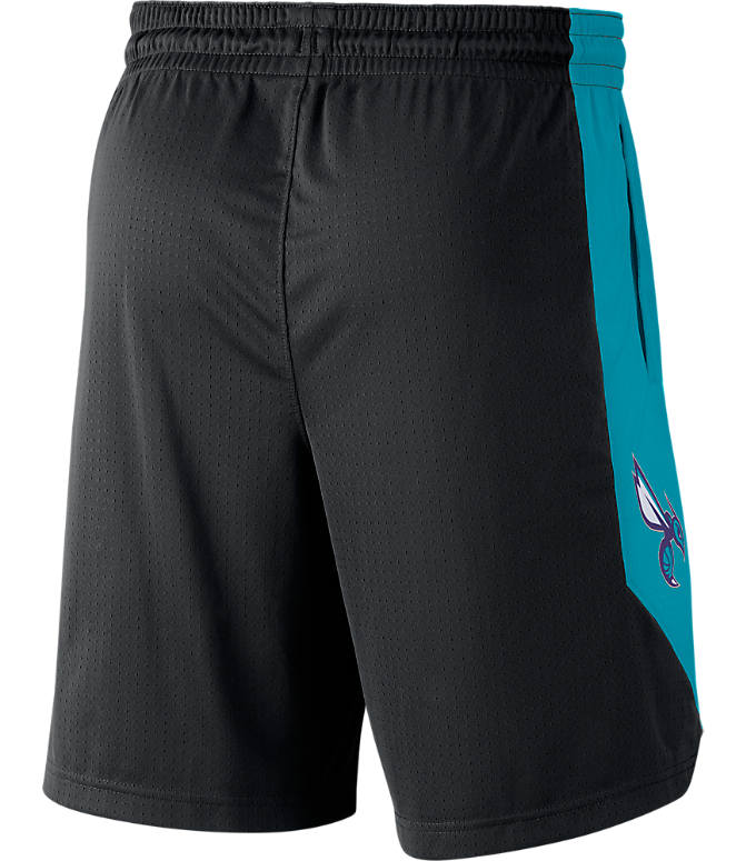 Product 3 view of Men's Air Jordan Charlotte Hornets NBA Practice Shorts in Black