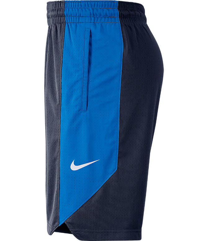 Product 3 view of Men's Nike Oklahoma City Thunder NBA Practice Shorts in College Navy
