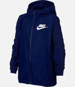 Boy's Nike Woven Full-Zip Jacket