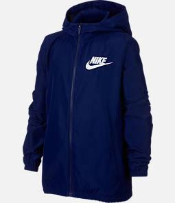 Boy's Nike Woven Full-Zip Jacket