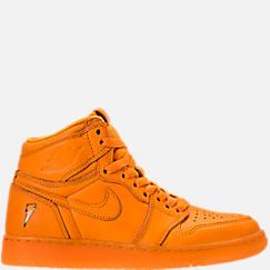 Kids' Grade School Air Jordan Retro 1 High OG G8RD Basketball Shoes