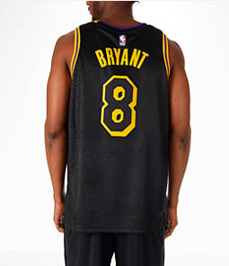Men's Nike Los Angeles Lakers NBA Kobe Bryant City Edition Connected Jersey