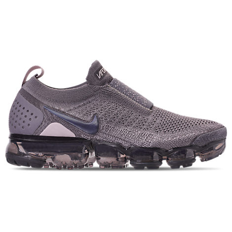 Nike Shoes WOMEN'S AIR VAPORMAX FLYKNIT MOC 2 RUNNING SHOES, GREY/PURPLE