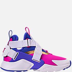 Kids' Grade School Nike Huarache City Casual Shoes