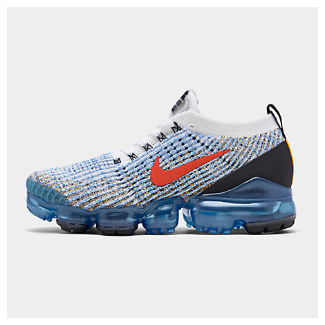 half off e7ab7 07ee0 Men's Air Vapormax Flyknit 3 Running Shoes, Blue - Size 15.0