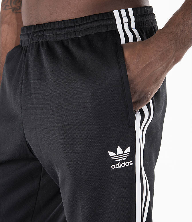 Detail 1 view of Men's adidas Originals SST Cuffed Jogger Pants in Black