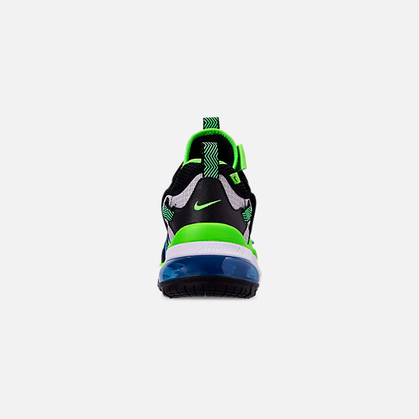 40c4bc9e825e Back view of Men's Nike Air Max 270 Bowfin Casual Shoes in Black/Black/