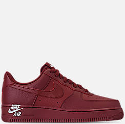 Mens Nike Air Force 1 07 Leather Casual Shoes