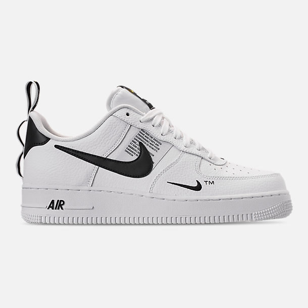 reputable site 2234a 59ae9 ... sale right view of mens nike air force 1 07 lv8 utility casual shoes in  white ...