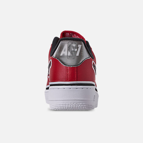 7413ec9d32f Back view of Men s Nike Air Force 1  07 LV8 Sport Casual Shoes in Varsity