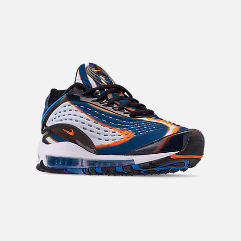 brand new fd00d 5964f Three Quarter view of Mens Nike Air Max Deluxe Casual Shoes in Cool  GreyTotal