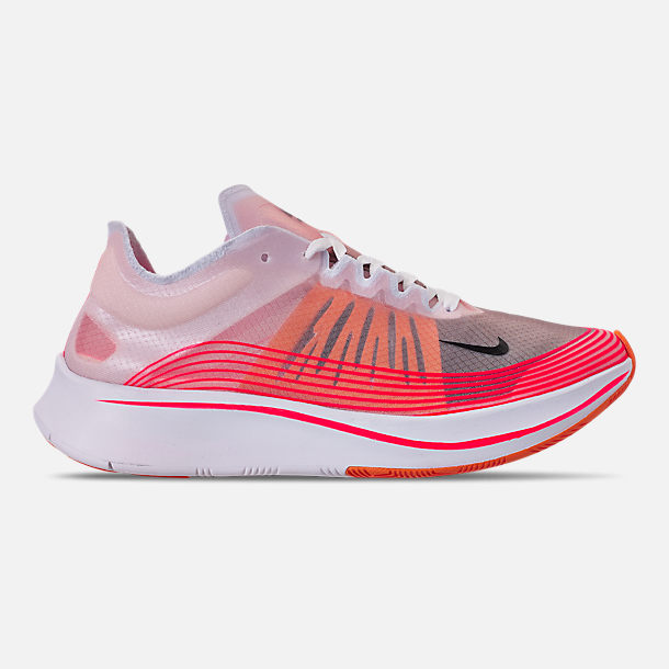 Right view of Women's Nike Zoom Fly SP Running Shoes in Varsity Red/Black/Summit White