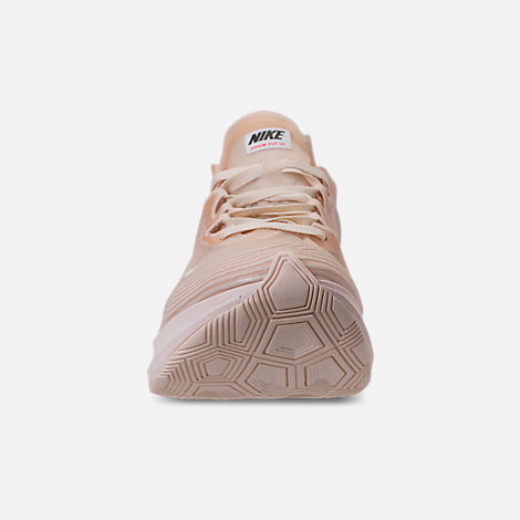 Front view of Women's Nike Zoom Fly SP Running Shoes in Guava Ice/White/Guava Ice