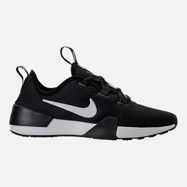 Right view of Women's Nike Ashin Modern Casual Shoes in Black/Summit White