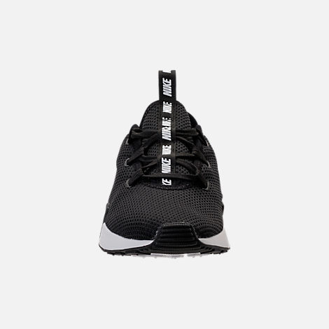 Front view of Women's Nike Ashin Modern Casual Shoes in Black/Summit White