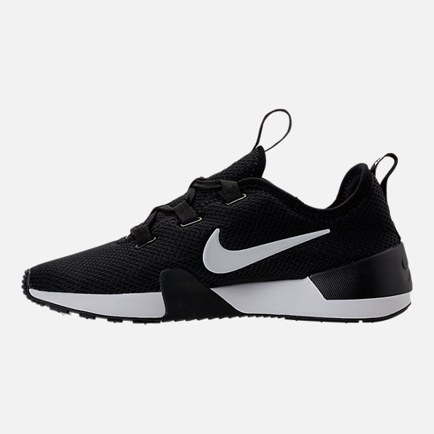 Left view of Women's Nike Ashin Modern Casual Shoes in Black/Summit White