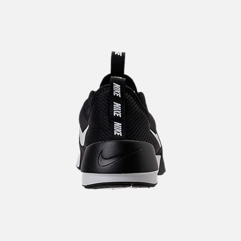 Back view of Women's Nike Ashin Modern Casual Shoes in Black/Summit White