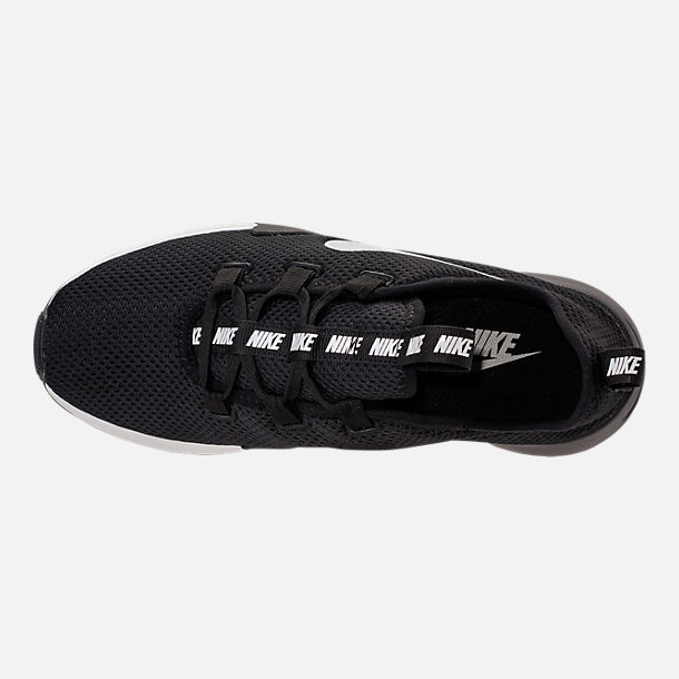 Top view of Women's Nike Ashin Modern Casual Shoes in Black/Summit White