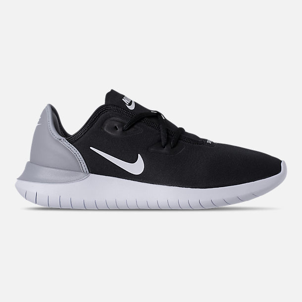Right view of Men's Nike Hakata Casual Shoes in Black/White/Wolf Grey