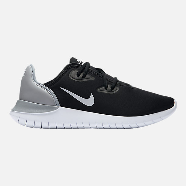 Right view of Women's Nike Hakata Casual Shoes in Black/White/Wolf Grey