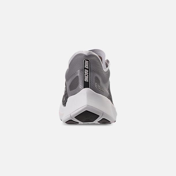 af9c75dc756 Back view of Unisex Nike Zoom Fly SP Running Shoes in Black Light Bone