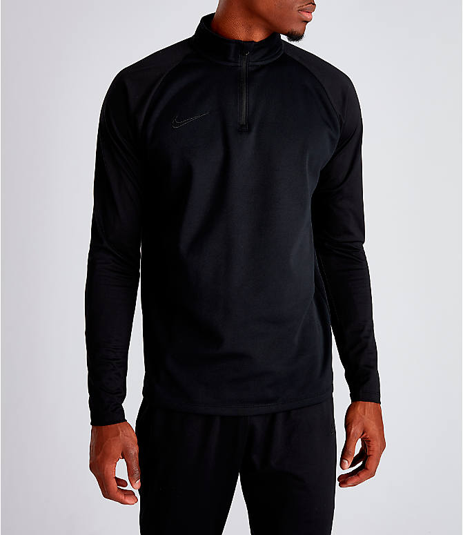 560903bfe Front view of Men's Nike Nike Dri-FIT Academy Soccer Drill Quarter-Zip  Training