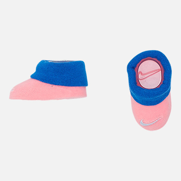 Alternate view of Infant Nike Air Maxicle 3-Piece Box Set in Bleached Coral/Blue
