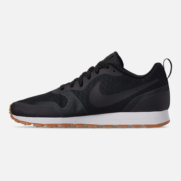 Left view of Men's Nike MD Runner 2019 Casual Shoes in Black/Anthracite/Gum
