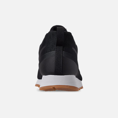 Back view of Men's Nike MD Runner 2019 Casual Shoes in Black/Anthracite/Gum