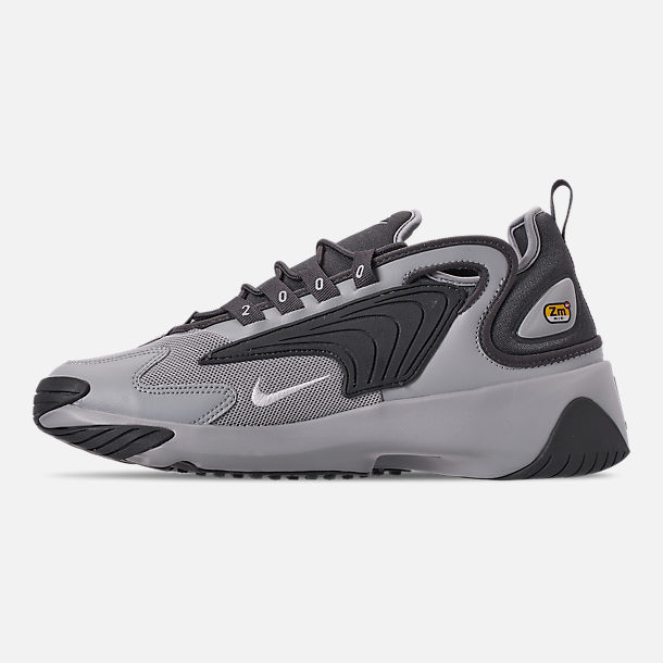 Left view of Men's Nike Zoom 2K Casual Shoes in Black/White