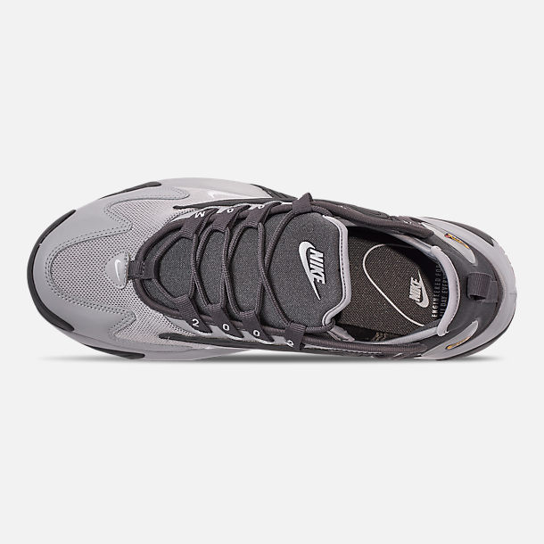 Top view of Men's Nike Zoom 2K Casual Shoes in Black/White