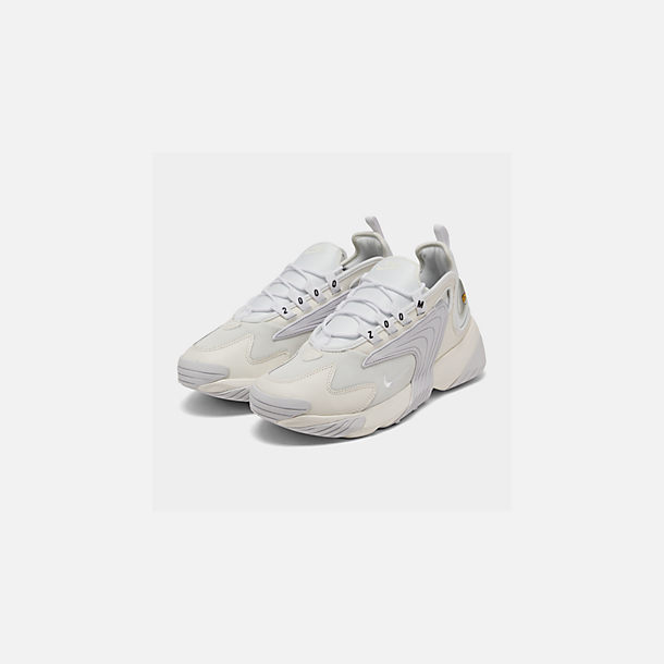 Three Quarter view of Men's Nike Zoom 2K Casual Shoes in Sail