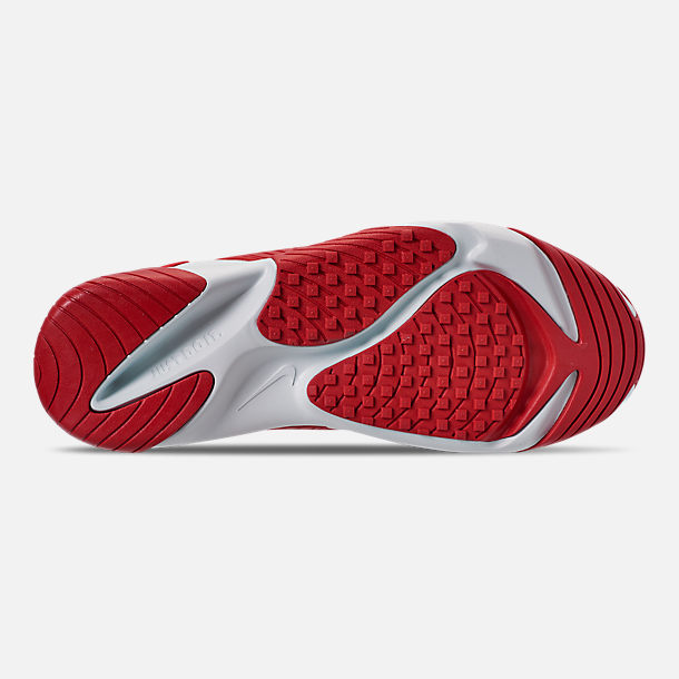 Bottom view of Men's Nike Zoom 2K Casual Shoes in White/Red