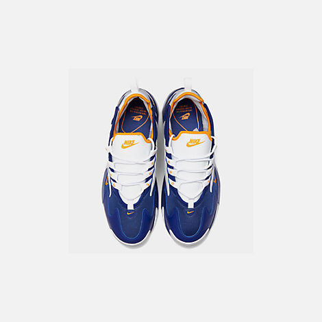 Back view of Men's Nike Zoom 2K Casual Shoes in Blue/White