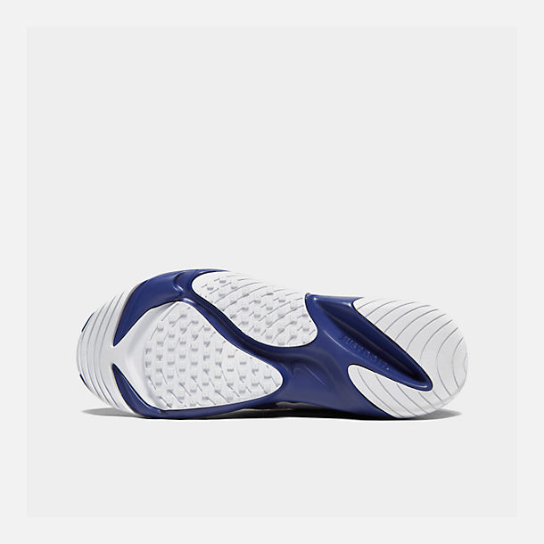Bottom view of Men's Nike Zoom 2K Casual Shoes in Blue/White